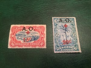 German East Africa NB2-3 VF hinged