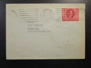 Germany SC# B234 on Cover to Vienna - Z6699