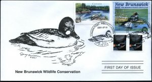 2001 New Brunswick Wildlife Golden Eye by D Perkins