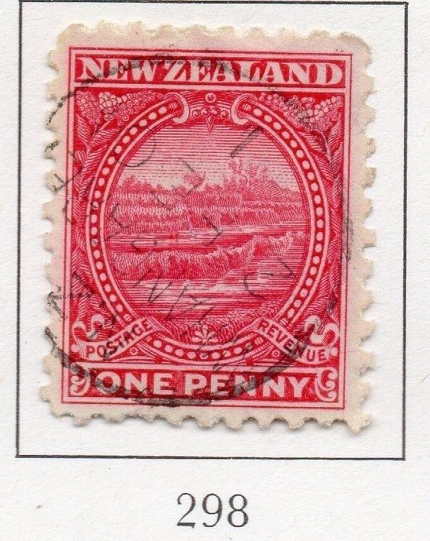 New Zealand 1900-1901 Early Issue Fine Used 1d. 200271