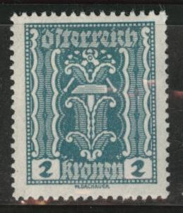 Austria Scott 252 MH* stamp from 1922-24 set