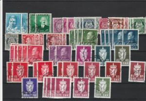 Norway Stamps for Collectors Ref 24752