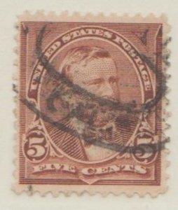 U.S. Scott #270 Grant Stamp - Used Single - IND