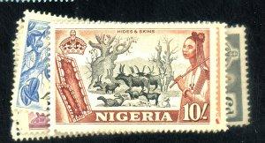 NIGERIA #80-90 MNT FVF OG LG PAPER HRS Cat $54