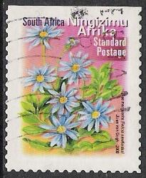 South Africa #1221 Flowers Used