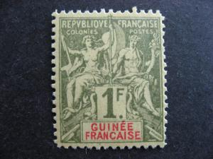 French Guinea Sc 17 mint, disturbed gum, check it out!