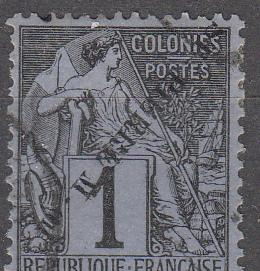 St Pierre & Miq. 19a Y&T 18A Invert Used VF 1891 SCV $40.00
