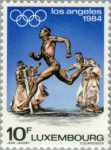 Luxembourg 1984 Olympic Games- Los Angeles MNH**