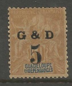 GUADELOUPE, 45, H, COLONIES