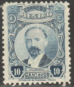 MEXICO 623, 10¢ PERFORATED, UNUSED, H OG..F-VF