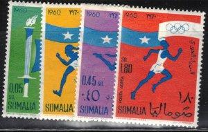 Somalia Scott #248-49 & C73-74 MNH Complete Set of 4