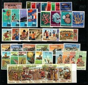 Tokelau Scott 5 // 103 Mint NH sets (Catalog Value $34.75)