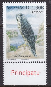 Monaco, Fauna, Birds, EUROPA MNH / 2019