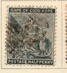 Cape of Good Hope 1882-83 Early Issue Fine Used 1/2d. 326706