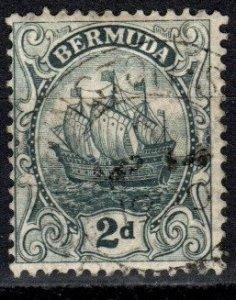 Bermuda #43  F-VF Used  CV $21.00  (X866)