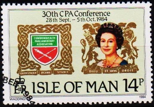 Isle of Man. 1984 14p S.G.279 Fine Used