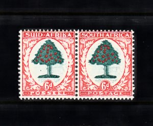SOUTH AFRICA SC# 25 MH PAIR - SALE TO A USA ADDRESS ONLY