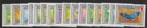 MONTSERRAT SG889/904 1992 INSECTS DEFINITIVE SET MNH