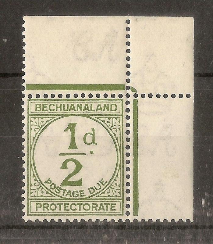 Bechuanaland 1932 0.5d Due SG.D4 MNH