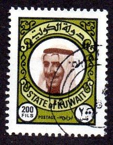 KUWAIT 729 USED SCV $9.00 BIN $3.00 POLITICS