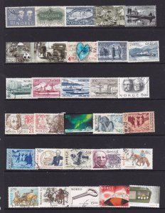 Norway a small used collection,mainly moderns