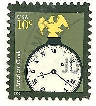 US  Cat #3757, Clock, Used*-