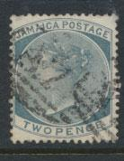 Jamaica  SG 20a - slate -  Used    see scan and details