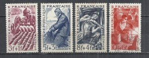 FRANCE 1949 - METIERS - CPL. SET - USED