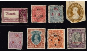 INDIA STAMP USED STAMPS COLLECTION LOT #2