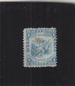 Match Tax Stamp, Sc #RO83a, Used (37906)