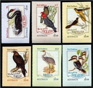 HERRICKSTAMP NEW ISSUES AUSTRALIA Bird Emblems Self-Adh.