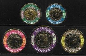 Jordan 537-537D Kennedy set MNH c.v. $14.00