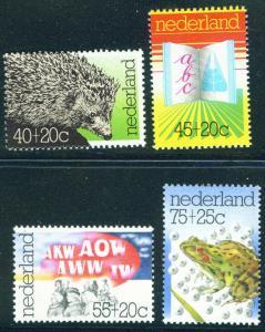 Netherlands Scott B517-520 MNH** 1976 semi-postal set