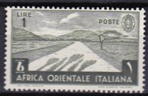 1938 Italian East Africa Scott 12 Desert Road MH