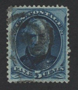 United States USED Scott Number 179 VF   - BARNEYS