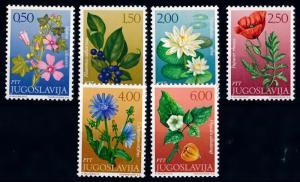 [67517] Yugoslavia 1971 Flora Flowers Blumen  MNH
