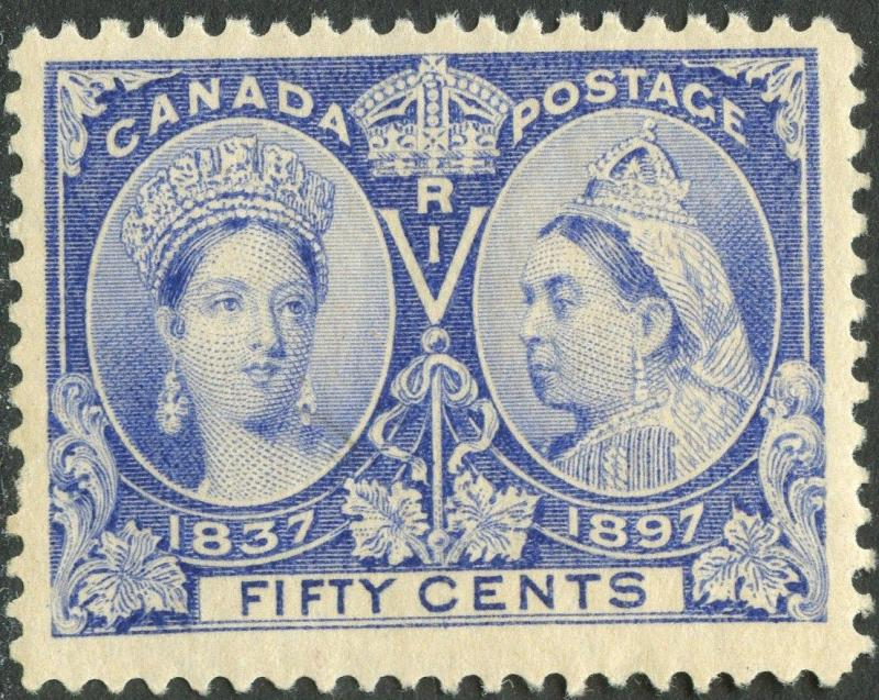 CANADA #60 VF OG NH W/ 2 THIN SPOTS AT RIGHT SIDE TOP & BOTTOM CV $775 BP3663