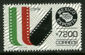 MEXICO Exporta 1770 $7200P Movie Films Fluorescent Paper 13 Mint NH