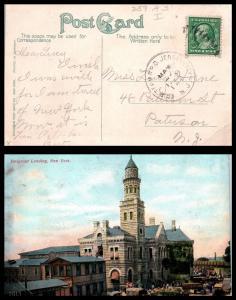 Goldpath: US Post Card 1909. Erie Term R.P.O. Jersey City, N.J. _CV17_P5