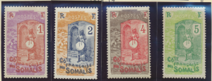 Somali Coast (Djibouti) Stamps Scott #80 To 118, Mint Hinged, Complete Set - ...
