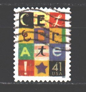 United States. 2007. 4300. Holiday stamp. USED.