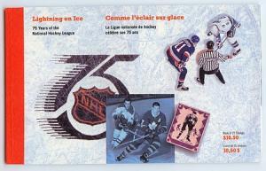 Canada - 1992 National Hockey League Booklet #BK148