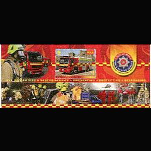 ISLE OF MAN 2013 - Scott# 1555 S/S Fire Engine NH