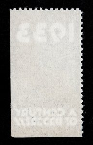 POSTER STAMP 1933 ⭐ A CENTURY OF PROGRESS ⭐ CHICAGO ILLINOIS MNG