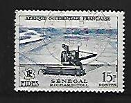 FRENCH WEST AFRICA, 69, USED, FIDES ISSUE