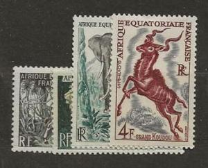 willmer. French Equatorial Africa 195-198 [H]
