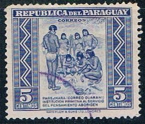 Paraguay Natives 5 - pickastamp (PP8R505)