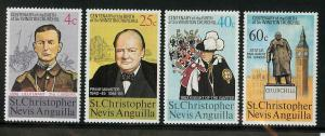 St. Kitts-Nevis 290-293 Mint VF LH