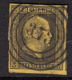 German States, Prussia #5 used, see description