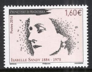 Andorra French 765 MNH VF